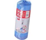 Alufix Premium Sáčky do odpadkového koše zatahovací modré 35 litrů, 53 x 60 cm, 15 kusů