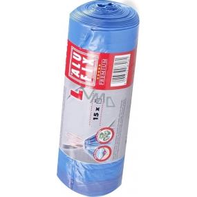 Alufix Premium pytle na odpad zatahovací modré 35 l 53 x 60 cm 15 kusů