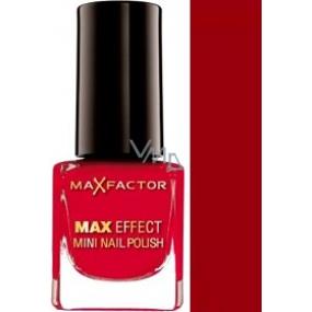 Max Factor Max Effect Mini Nail Polish lak na nehty 39 Ruby Tuesday 4,5 ml