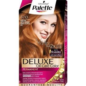 Schwarzkopf Palette Deluxe barva na vlasy 370 Noblesní světle měděná 115 ml