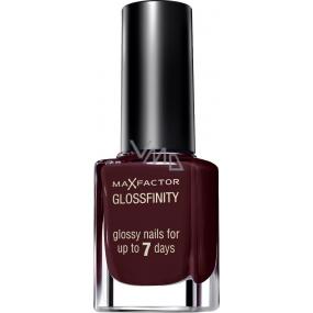 Max Factor Glossfinity lak na nehty 185 Ruby Fruit 11 ml