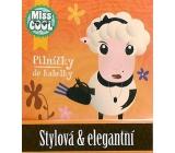 Nekupto Miss Cool Pilníčky na nehty 004 Ovečka Stylová & elegantní 6 kusů 1 balení