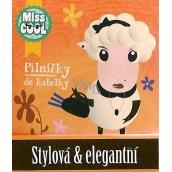 Nekupto Miss Cool Pilníčky na nehty Ovečka Stylová & elegantní 6 kusů 1 balení