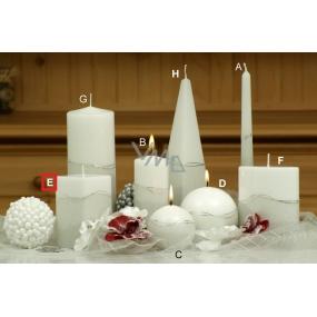 Lima Artic svíčka bílá hranol 65 x 120 mm 1 kus