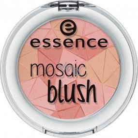Essence Mosaic Blush tvářenka 10 Miss Floral Coral 4,5 g