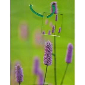 Nekupto Dárková papírová taška střední 394 50 BM fialová květina 23 x 18 x 10 cm