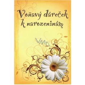 Bohemia Vonný sáček Voňavý dáreček k narozeninám P5 Rosarium 17 x 11,5 x 1,5 cm