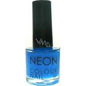 Dor Neon Colour Nail lak na umělé nehty N5 neonová modrá 9 ml
