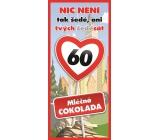 Bohemia Gifts Mléčná čokoláda Vše nejlepší 60, dárková 100 g