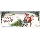 Bohemia Gifts & Cosmetics Mléčná čokoláda Veselé vánoce 100 g