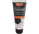 Beauty Formulas Charcoal Jíl + Aktivní uhlí pleťová maska na obličej a krk 100 ml