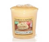 Yankee Candle Vanilla Cupcake - Vanilkový košíček vonná svíčka votivní 49 g