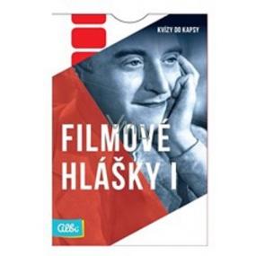 Albi Kvízy do kapsy Filmově hlášky 50 karet, věk: 12+