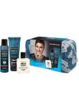 Dermacol Men Agent Gentleman Touch sprchový gel pro muže 250 ml + deodorant sprej 150 ml + voda po holení 100 ml + etue, kosmetická sada