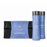 Alterna Caviar Restructuring Bond Repair obnovující šampon pro poškozené vlasy 250 ml + kondicionér 250 ml, kosmetická sada sada duo