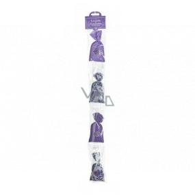 Esprit Provence Levandulový vonný pytlík 4 kusy, dárková sada fialové kytičky
