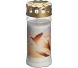 Bolsius Svíčka s víčkem Holubice 16,5 x 7,5 cm 120 hodin 450 g