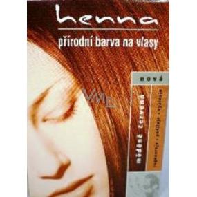 Henna Prirodni Barva Na Vlasy Medene Cervena 123 Praskova 33 G Vmd