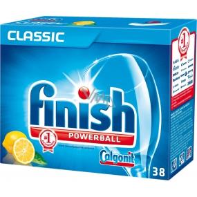 Calgonit Finish Classic Pre-soaking Aciton Lemon tablety do myčky 38 kusů