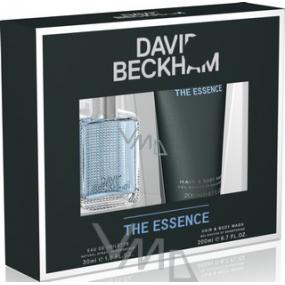 David Beckham The Essence toaletní voda 30 ml + sprchový gel 200 ml, dárková sada