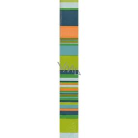 Nekupto Balící papír Zelené pruhy 70 x 150 cm 1 role