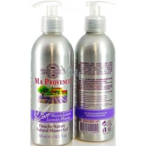 Ma Provence Bio Květ levandule Pravý přírodní sprchový gel 250 ml