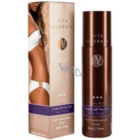 Vita Liberata Extra Rich Samoopalovací zabarvený gel na tělo tmavý odstín 200 ml
