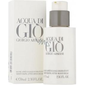 Giorgio Armani Acqua di Gio pour Homme balzám po holení s pumpičkou 70 ml