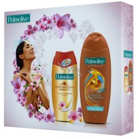 Palmolive Marocké zlato Mediterranean Moments Argan Oil sprchový gel 250 ml + Naturals Argan Oil šampon 350 ml, kosmetická sada