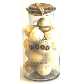 Albi Broskev, Dekorativní dřevo koule ve skle