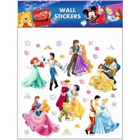 Room Decor Samolepky na zeď Disney Princezny tančící 30 x 30 cm