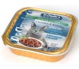 Dr. Clauders Cat Kreveta + treska s kousky masa kompletní krmivo 100 g