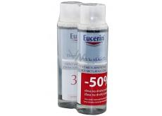 Eucerin DermatoClean 3v1 čisticí micelární voda 2 x 400 ml, duopack