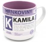 Nekupto Hrnkoviny Hrnek se jménem Kamila 0,4 litru