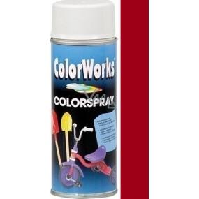 Color Works Colorsprej 918519 červená bordó alkydový lak 400 ml