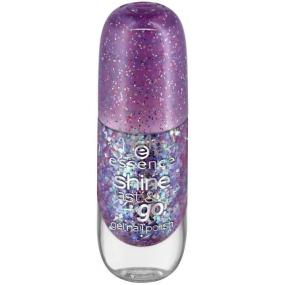 Essence Shine Last & Go! lak na nehty 23 Party Time 8 ml
