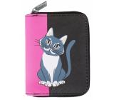 Albi Original Peněženka malá Kočka 11 x 8,5 x 2,7 cm