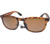 Nae New Age Sluneční brýle hnědé A20203
