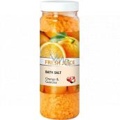 Fresh Juice Pomeranč & Guarana koupelová sůl 700 g