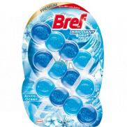 Bref Brilliant Gel All in 1 Arctic Ocean WC blok s vůní oceánu 3 x 42 g