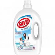 Savo Prací gel bez chloru na bílé prádlo 50 dávek 2,5 l