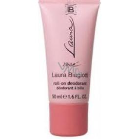 Laura Biagiotti Rosé kuličkový deodorant roll-on pro ženy 50 ml