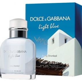 Dolce & Gabbana Light Blue Living Stromboli toaletní voda pro muže 40 ml