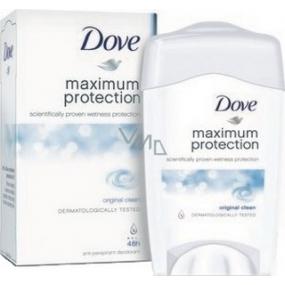 Dove Maximum Protection Original Clean antiperspirant deodorant stick pro ženy 45 ml