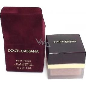 Dolce & Gabbana Pour Femme koupelové krystaly 30 g