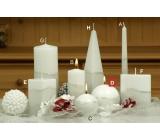 Lima Artic svíčka bílá koule 100 mm 1 kus