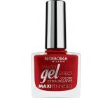 Deborah Milano Gel Effect Nail Enamel gelový lak na nehty 07 My Red 11 ml