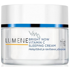 Lumene Bright Now Vitamin C+ Sleeping Cream Krém na spaní 50 ml