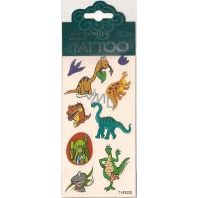Tetovací obtisky dětské zvířátka T4P023J 7,5 x 15 cm