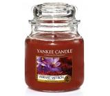 Yankee Candle Vibrant Saffron - Živoucí šafrán vonná svíčka Classic střední sklo 411 g